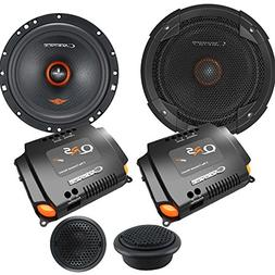 """Cadence QRS6K2 6.5"""" 2-Way QRS Series Component Car Speakers"""
