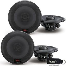Alpine R-S65 Bundle - Two pairs of R-S65 6.5 Inch Coaxial 2-