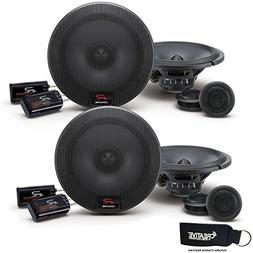 Alpine R-S65C Bundle - Two pairs of Alpine R-S65C 6.5 Inch C