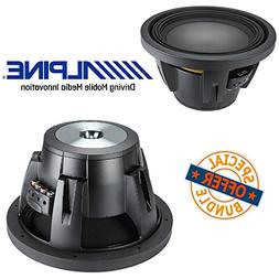 Alpine Type R 12 inch 2250 Watt Max 4 Ohm Round Car Audio S