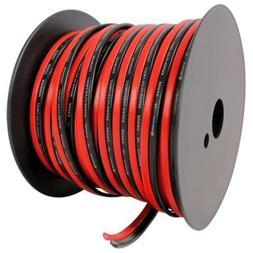 Rockville R14GSBR100 Red/Blk 14 Gauge 100' Ft. Mini Spool Ca