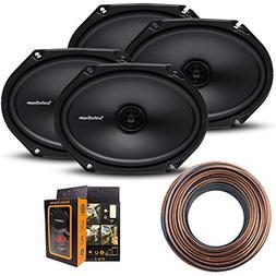 Rockford R168X2 Prime 6x8 Inches Full Range Coaxial Speaker