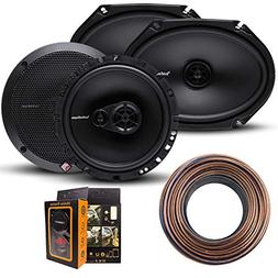 R168X2 Prime 6x8 Inches Full Range Coaxial Speaker + R165X3