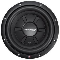 New Rockford Fosgate R2 Ultra Shallow 10-Inch 2 Ohm DVC Subw