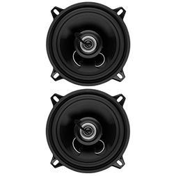 Full Range Car Speakers Audio 2pc 225w 5.25 Inch 2-Way Speak