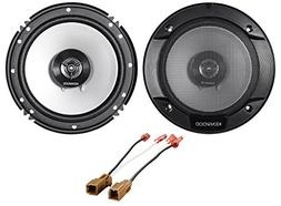 Kenwood Rear Deck 6.5 Speaker Replacement Kit For 02-06 Niss