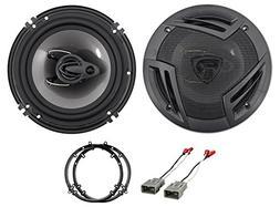 "Rockville 6x9"" Rear Factory Speaker Replacement Kit For 2002"