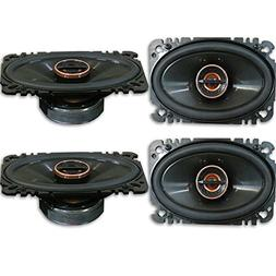 4 x Infinity REF 6422cfx 4x6 inch 2-Way Car Audio Coaxial Sp