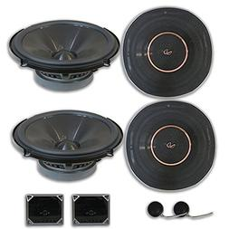 4 x Infinity REF 6520cx 6.5-inch 2-way Car Audio Component S