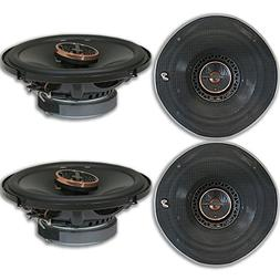 4 x Infinity REF-6522ix 6.5-inch 2-Way Car Audio Coaxial Spe