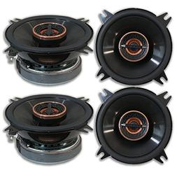 """4 x Infinity Reference REF 4022CF 4-inch 4"""" 2-way Car Audio"""