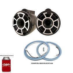 Wet Sounds REV 10 X Mount Tower Speakers with LEDKITREV10-RG
