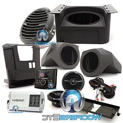 Rockford Fosgate RNGR-STAGE 3 400W Stereo, Speaker and Subwo