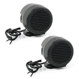 uxcell 2 Pcs Rotating Holder Car Round Shape Tweeter Speaker