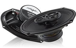 """Skar Audio RPX69 6"""" x9"""" 3-Way 520 Watt Coaxial Car Speakers"""
