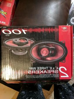 VR3 RS 460 4 x 6 inch car speakers 100w max