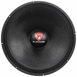 "Rockville RVW1800P4 1800 Watt 18"" Mid-Bass Driver Car Audio"