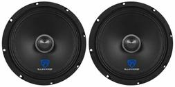 "Rockville RXM84 8"" 500w 4 Ohm Mid-Range Drivers Car Speaker"