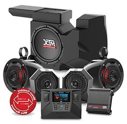 MTX RZRSYSTEM3 Four Speaker, Dual Amplifier, and Single Subw
