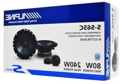 "Alpine S-S65C 6.5"" Component Car Speakers 2-Way S-Series 240"