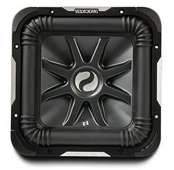 "Kicker S15L7 Car Audio Solobaric L7 Square 15"" Sub Dual 2 Oh"
