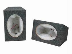 "Scosche Se6900 6""X 9"" Mdf Carpeted Speaker Enclosure Pai"