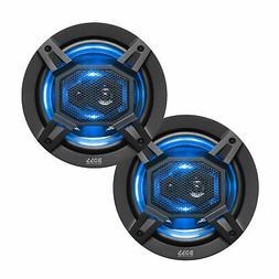 BOSS Audio Elite Series Car Speakers, Model B65LED | 300 Wat