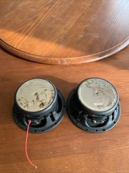 set of 2 realm ls6c car speakers
