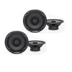 Alpine SPE-6000 6-1/2 Coaxial 2-Way Speaker Set Bundle