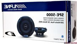 """Alpine Spe-5000 5.25"""" 2 Way Pair of Car Speakers Totalling 2"""