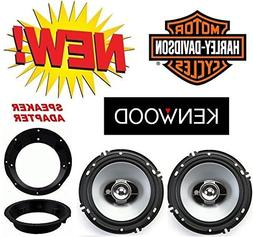 96-2013 Kenwood Speaker Package with Adapter Rings works wit
