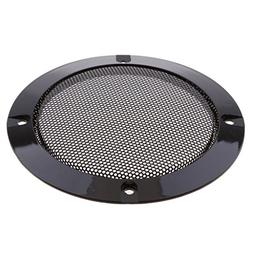MagiDeal 4 Inch Speaker Grills Cover Case with 4 pcs Screws