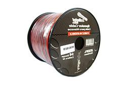 Speaker Wire 14 GA 250 Feet Red Black Stranded Copper Clad H