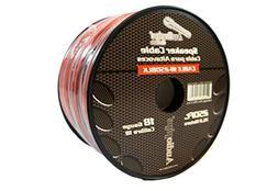 Audiopipe 18 Gauge 250 Feet Red Black Speaker Wire Stranded