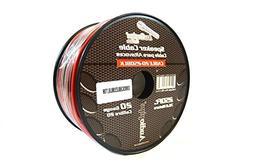 Speaker Wire 20 GA 250 Feet Red Black Stranded Copper Clad H