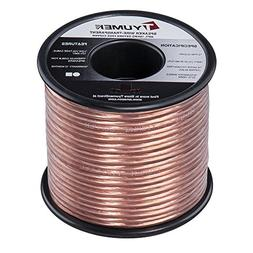 TYUMEN 40 FT Speaker Wire - 2 Conductors 18 Gauge Stranded 9