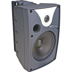"SPECO 5. 25"" Outdoor Speaker BK Pair W. Trans."
