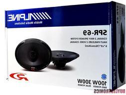 """Alpine SPR-69 6""""x9"""" Car Speakers/ 6x9-Inch 2-Way Car Audio S"""