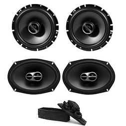 "Alpine SPS-610 6-1/2"" 2-Way Type-S Series Coaxial Car Speake"