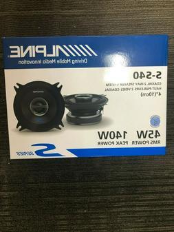 "Alpine S-S40 4"" Car Audio Speakers 4-Inch Type S Series 2-Wa"