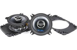 "Alpine SPS-410 4"" Car Audio Speakers 4-Inch Type S Series 2-"