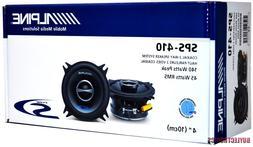 "Alpine SPS-410 4"" Car Speakers/ 4-Inch Car Audio Speaker Typ"