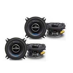 """Alpine SPS-410 4"""" Coaxial 2-Way Speaker Set Bundle"""