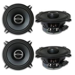 "4 x Alpine SPS-510 5.25"" 2-way Car Audio coaxial speakers"
