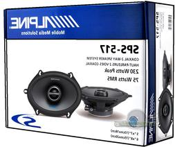 "ALPINE SPS-517 2-WAY COAXIAL  5x7"" CAR SPEAKER NEW SPS517  C"