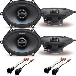 "Alpine SPS-517 5"" x 7"" 2-Way Type-S Series Coaxial Car Speak"