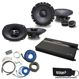 "Alpine Type-S SPS-610C 6.5"" Component Speakers, SPS-619 6x9"