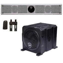 Wet Sounds Package - White Stealth 6 Ultra HD Sound Bar w/ R