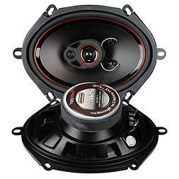 2pc 5x7 Inch 3 Way 250W Stereo Car Speakers Audio Speaker Ca
