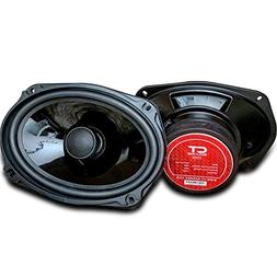 CT Sounds Strato 6x9 Inch Car Audio Coax Door Speaker Set -